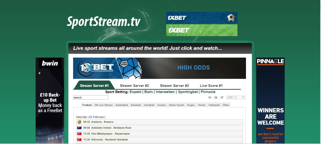 SportStream live