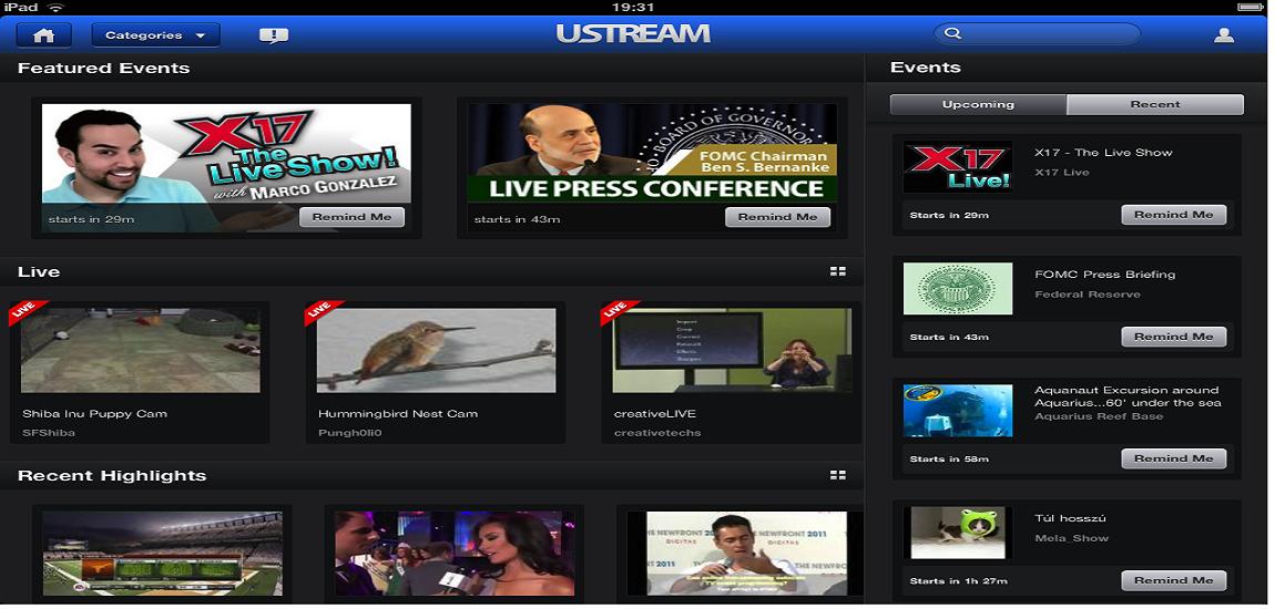 ustream Alternative Services to USTV247